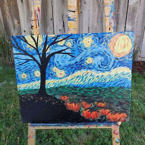 Starry Autumn Night 2