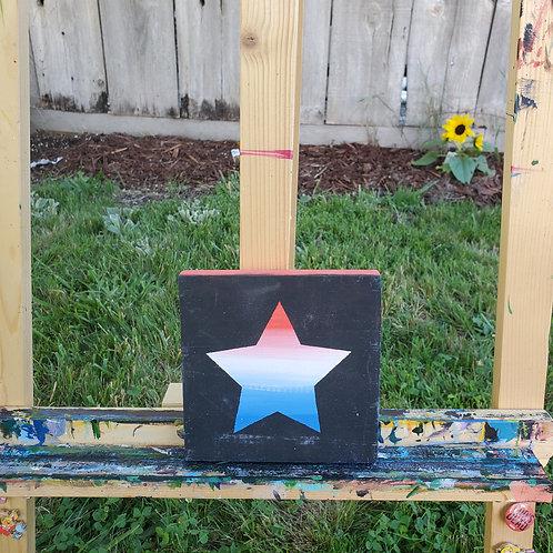Patriot Star on Black