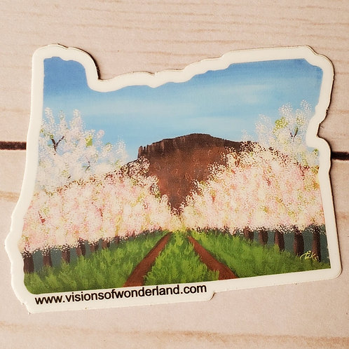 Table Rock Oregon sticker