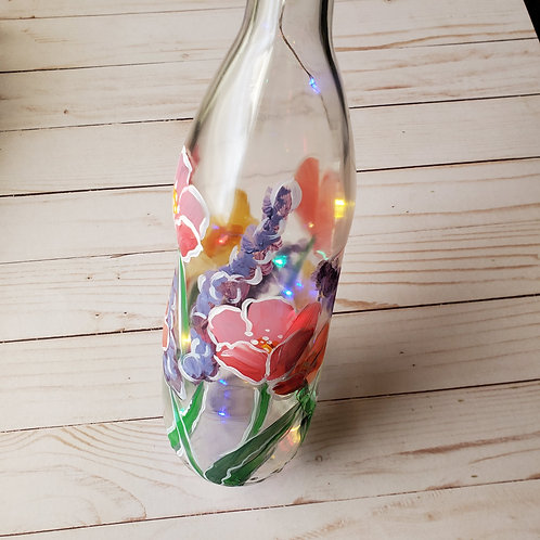 Spring Flowers bottle