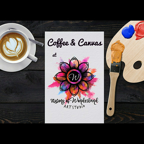 9/28 Coffee & Canvas