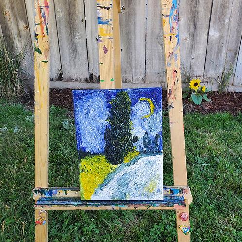 Vincent's Cypress Tree