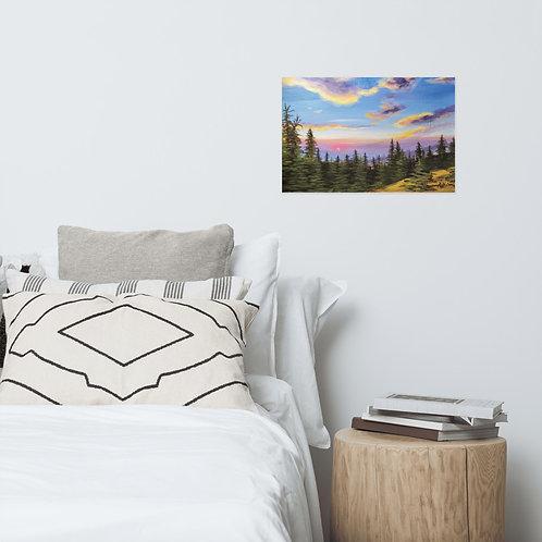 """""""Meridian Overlook"""" Poster Print"""
