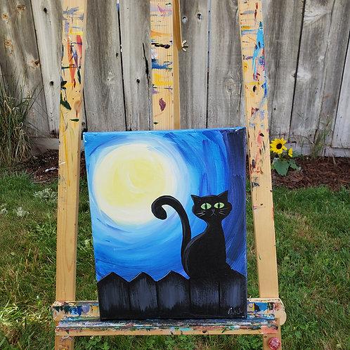 Moonlit Cat