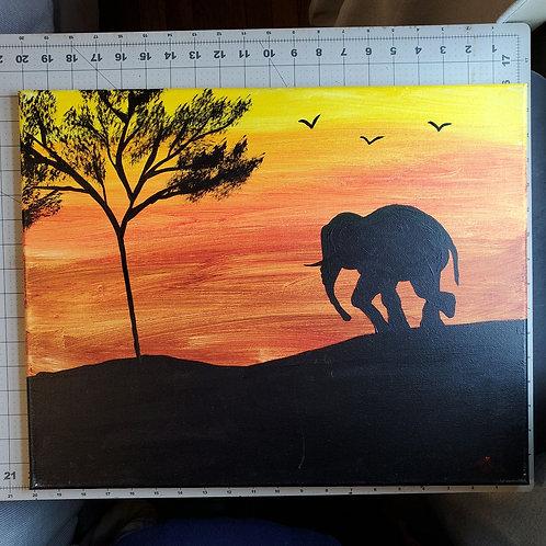 Elephant Safari 1