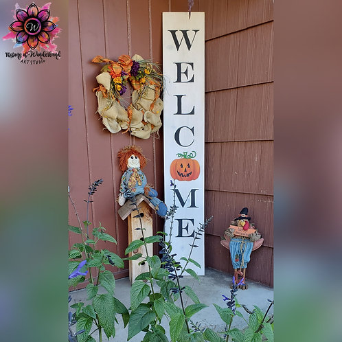 11/21 Welcome Greeter Sign