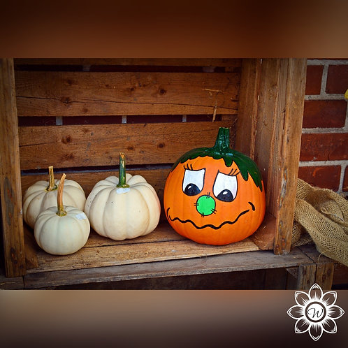 10/19 Paint Your Own Pumpkin