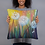 "Thumbnail: ""Dandelion Breeze"" Throw Pillow Case (18x18"")"
