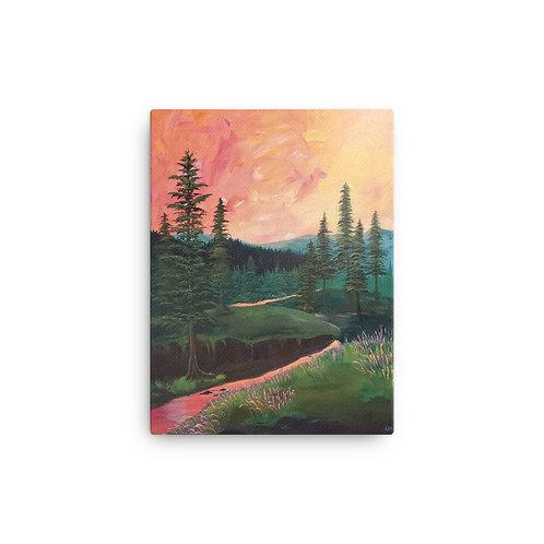 """River Free"" Canvas Print"