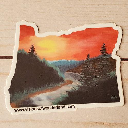 Rogue River Oregon sticker