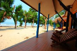 Beach front bungalow 2