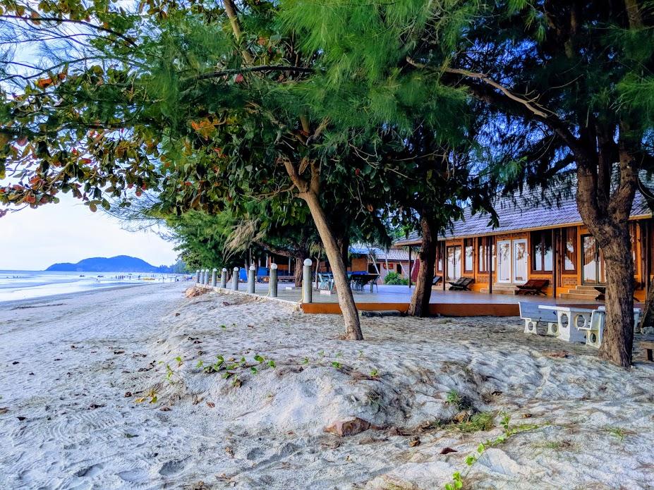 beach front bungalow location B