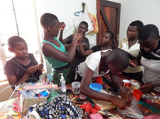 creative workshop in Malawi, Africa