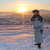 モンゴルの旧正月~デールを着て~