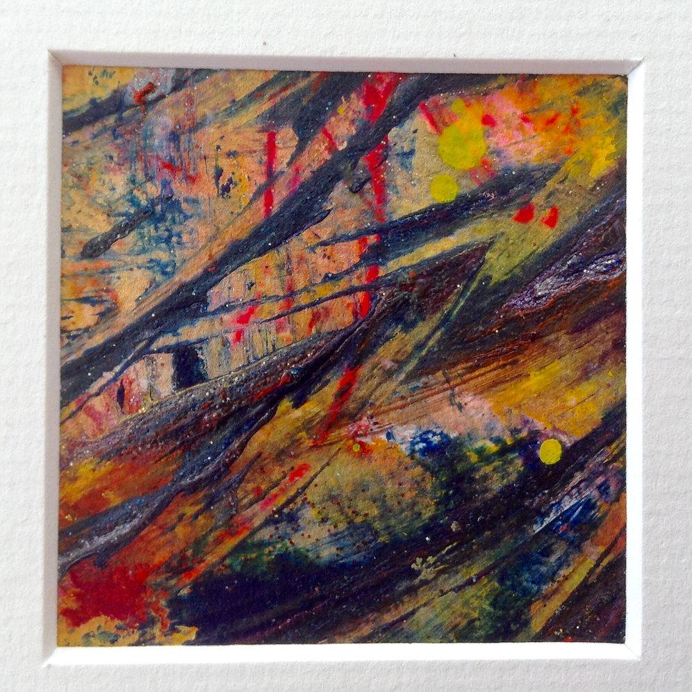 LUCK SPELL painting~art~ ALTAR ART~ TOTAL SUCCESS SPELL CAST