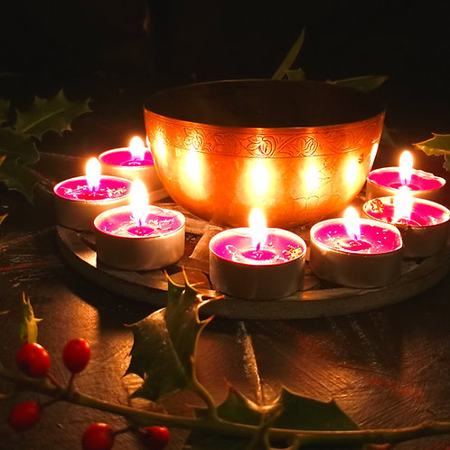 10 X super FULL MOON CANDLES MONEY POWERFUL