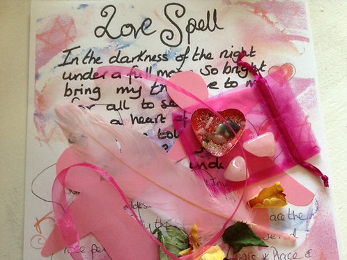 Binding love SPELL kit~ pagan voodoo~karma safe