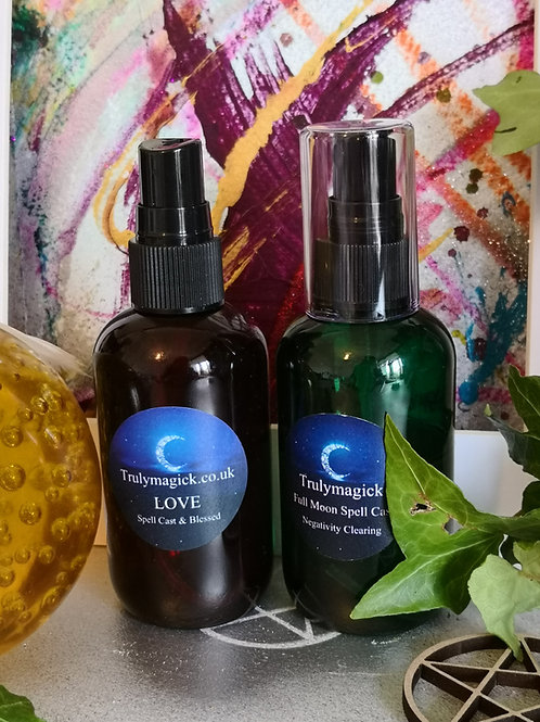 LOVE ATTRACTION AURA SPRAY~ Natural love potion custom made