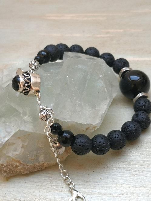 HEX BREAKING & PROTECTION bracelet ~amulet~ real gemstones