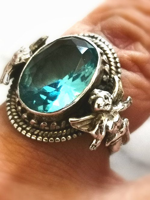 Very rare  Double Angel  ring from the Galectic Masters.