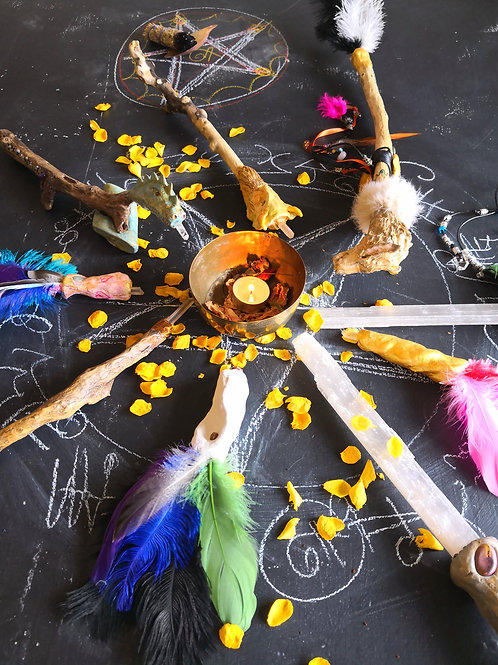 ON LINE WITCHCRAFT WORKSHOP/ COURSE & Coaching #LOVESPELLS