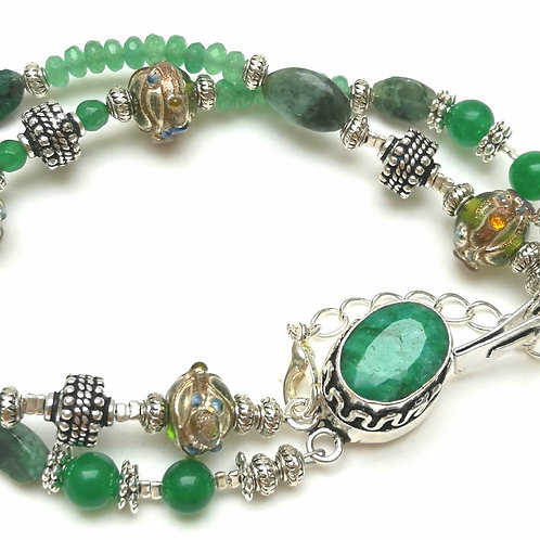 SPELL CAST REAL EMERALD POWER AMULETS LOVE~PROTECTION~ WEALTH ~ LUCK