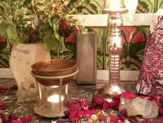 IMBOLC Pagan celebration of Fertility & New beginnings.Here I will help you set up your Altar &a