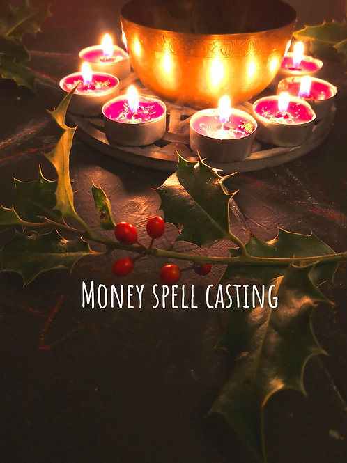 Super full moon December Spell casting for abundance and money