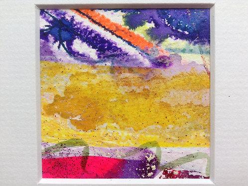 WEALTH & ABUNDANCE spell ~ painting~art~ ALTAR ART~ abundance SPELL CAST