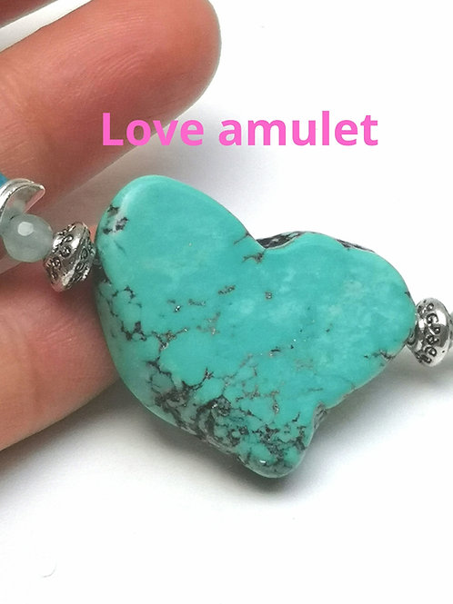 Rare and special LOVE amulet with GODDESS BLESSINGS
