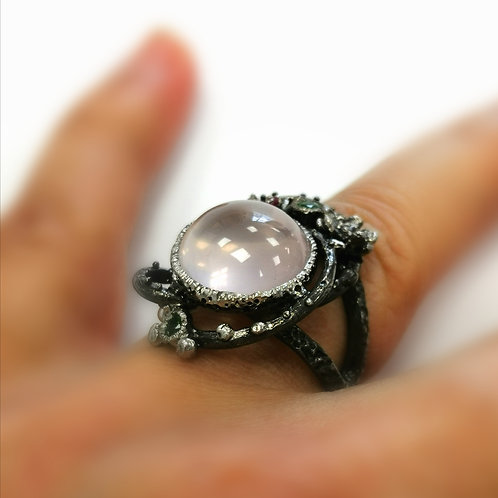 SPIRIT hub  GUIDE Ring of ENLIGHTENMENT~ protection and 3rd eye opening