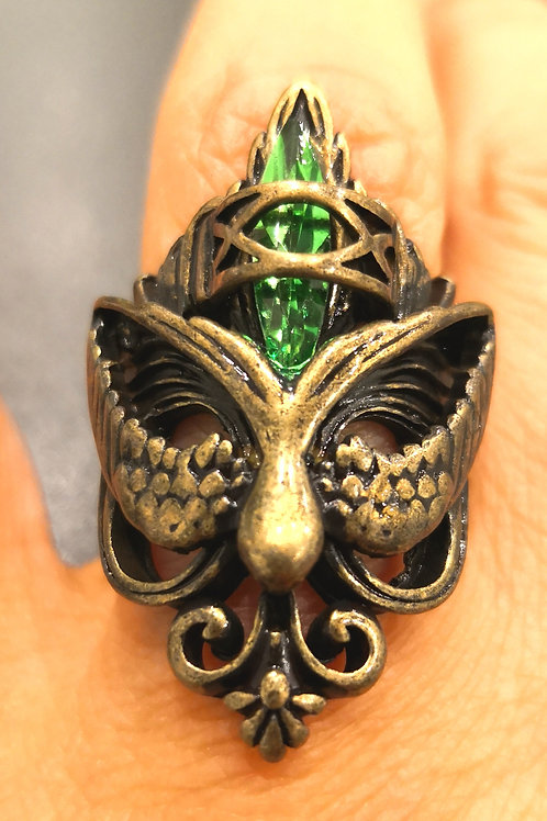 3rd eye opening Pagan Dark Angel  amulet of 1000 spells