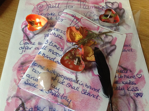 Spell for marriage ~spell kit~ Wicca ~witchcraft