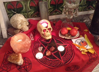 Halloween, a powerful time for spell casting
