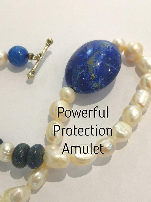 POWERFUL Protection & CURSE BLOCKING SHIELD choker necklase