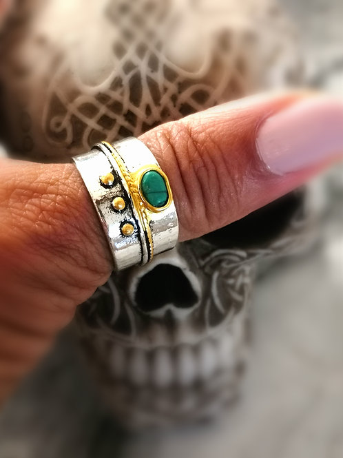 Celtic khodam ring of  LOVE & SUCCESS~JINN GENIE