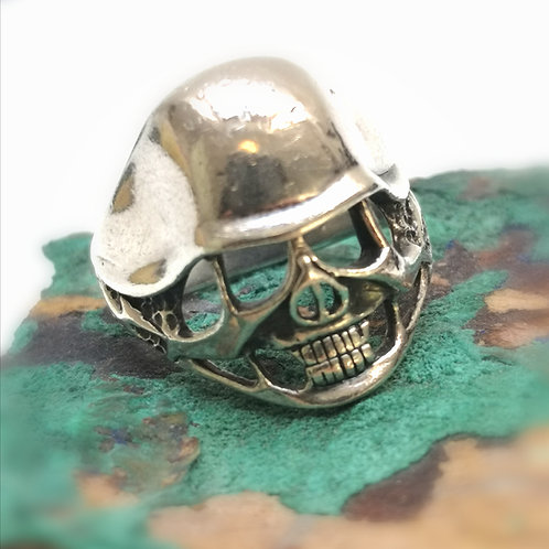 Solid silver skull ring-Vampire magick~ power of protection and hex removal
