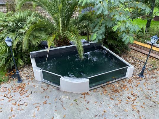 bassin vitré