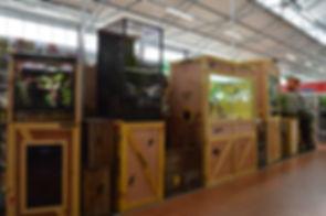 Terrarium pour animalerie