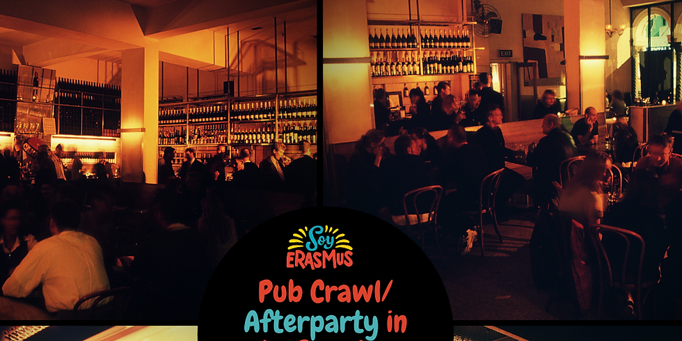 Pub Crawl & Afterparty in Le Premier 28 February