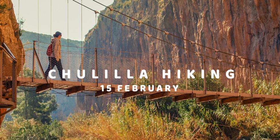 Chulilla hiking 15 February