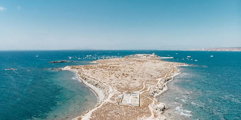 Isla Tabarca from Alicante