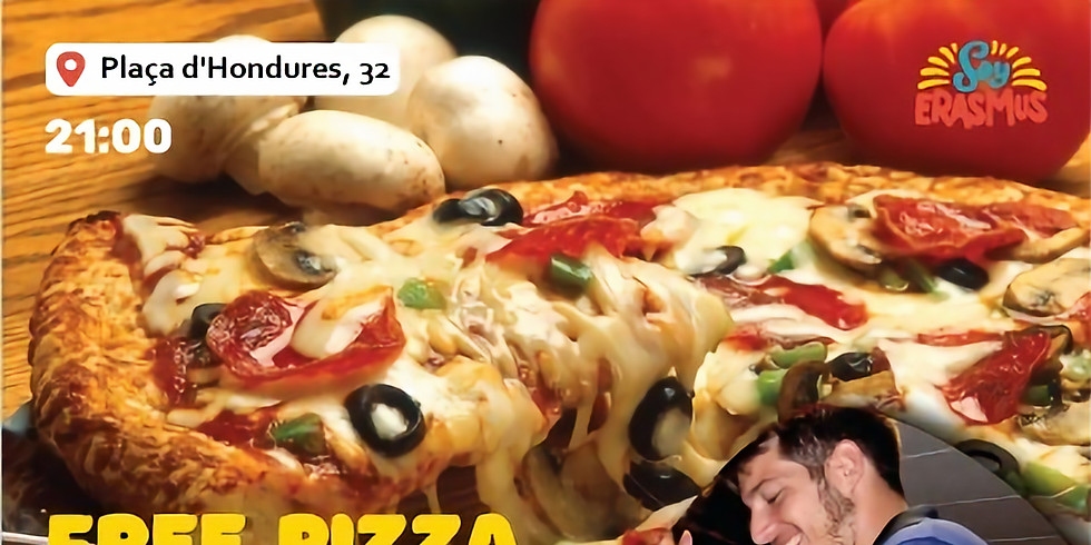 Free Pizza, SangriaPong and Afterparty