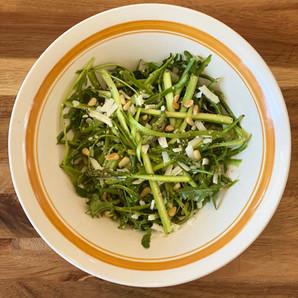 Lemon Asparagus Ribbon Salad