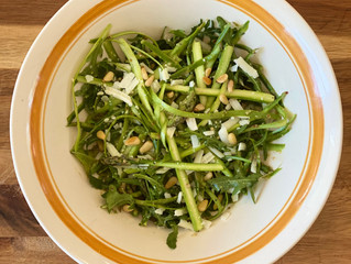 Lemon Asparagus Ribbon Salad