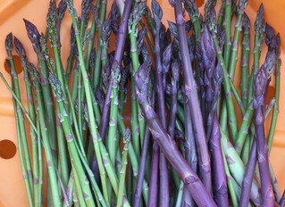 Simple Recipes: Sheet Pan Asparagus and Mushrooms