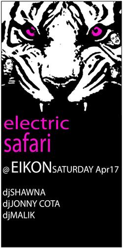 ELECTRIC SAFARI 2010 FACES