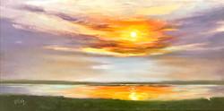 Sunset, LBI 20 x 10