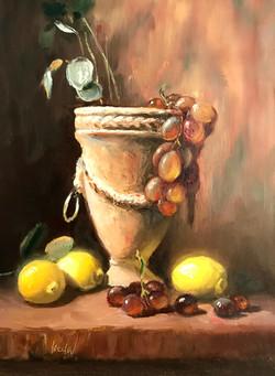 Italian Urn and Lemons