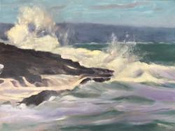 Seascape_Maine 2, 16 x 12